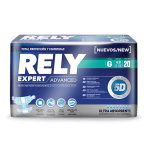 PAÑALES RELY ADVANCED G X 20 UNIDADES