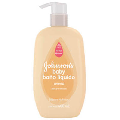 BAñO LIQUIDO JOHNSON´S BABY AVENA X 400 ML