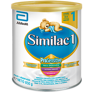 SIMILAC ProSensitive ETAPA 1 X 850 GRM