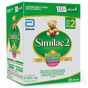 SIMILAC ETAPA 2 PROSENSITIVE CAJA X 1.400 GRM