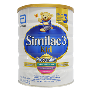 SIMILAC 3 KID PROSENSITIVE LATA X 850 GRM